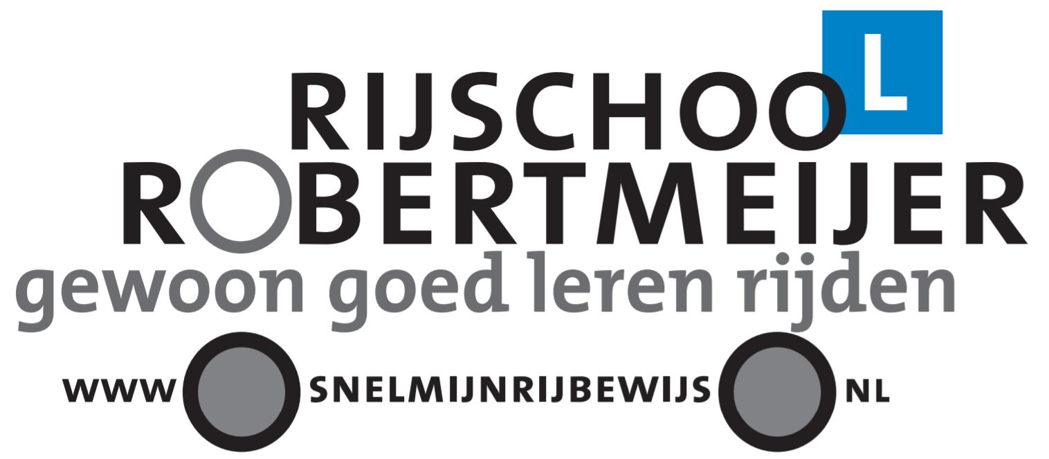 Logo Rijschool Robert Meijer